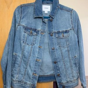 NWT Medium Wash Old Navy Denim Jacket Size Small